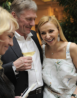 Татьяна Навка и Дмитрий Песков фото