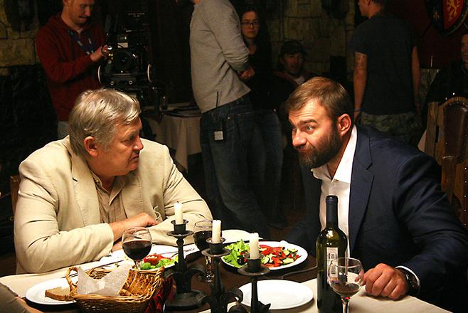 Михаил Пореченков подрался на съемках фильма Тень: подробности