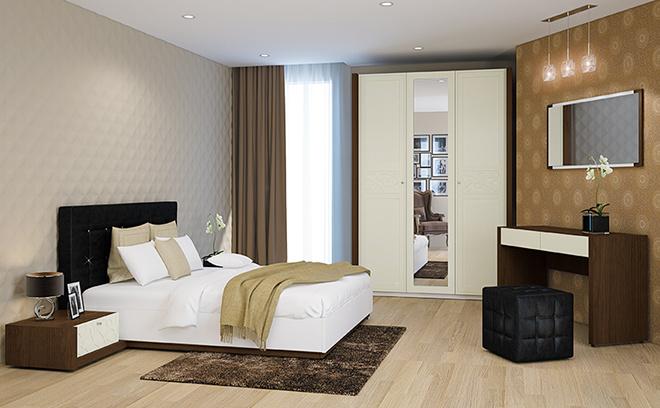 Белорусская мебель купить в Ростове-на-Дону, спальня «Шарми»