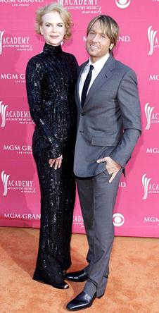 Николь Кидман с мужем Китом Урбаном