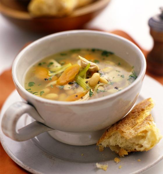 Суп из курицы в мультиварке рецепт
