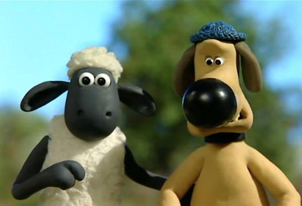 Барашек Шон, кадр из мультфильма
