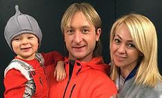Рудковская обсуждает с сыном рождение братика