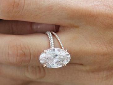 Обручальное кольцо Блейк Лайвли (Blake Lively)