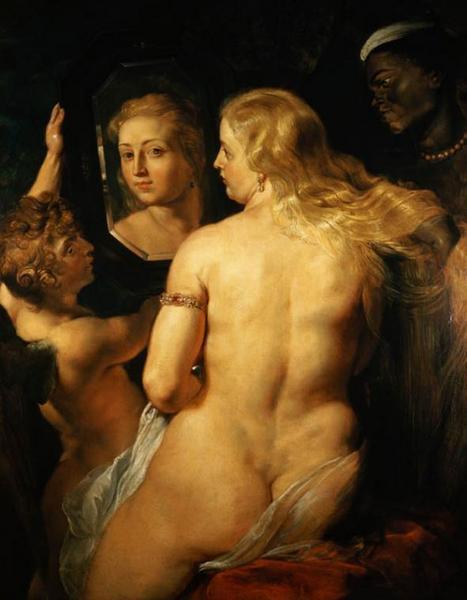 Питер Рубенс, Обнаженная Венера перед зеркалом