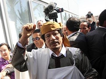 Муаммар Кадаффи (Muammar Kaddafi) призывает исламские армии принять участие в битве