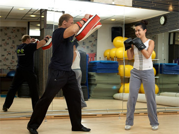 Тина Канделаки занимается боксом.