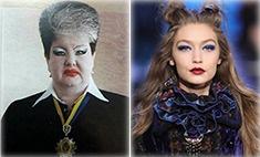 Джиджи Хадид реабилитировала «макияж продавщицы» из 90-х