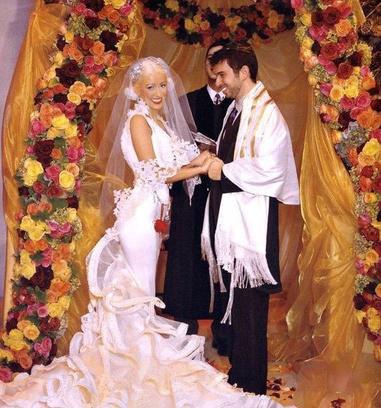 Свадьба Кристины Агилеры