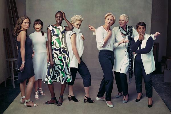 Рекламная кампания Marks & Spencer весна-лето 2014