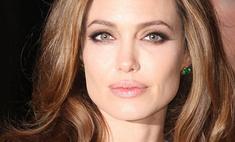Анджелина Джоли испугала детей своим макияжем