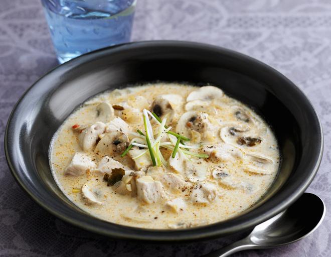 суп с курицей и вешенками рецепт с фото