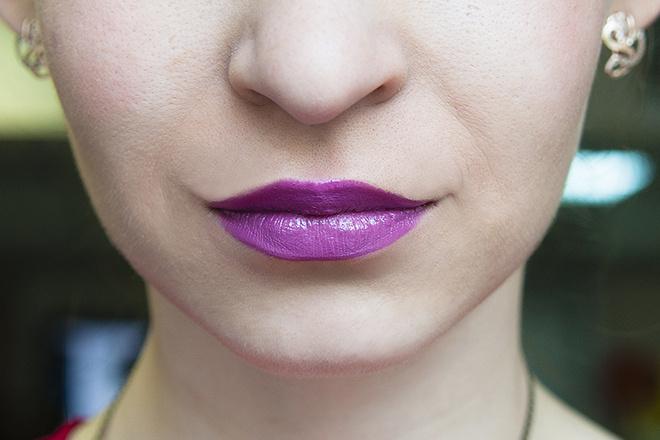 Maybelline, «Роскошный Цвет», оттенок plum passion