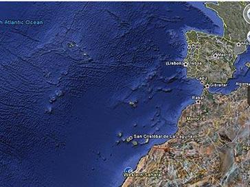 Африканская Атлантида находится в районе Канарских островов