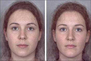 Женщина справа, судя по лицу, более склонна к легким связям, женщина слева - к серьезным отношениям