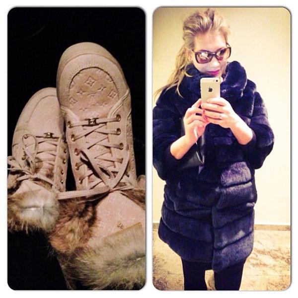Кристина Асмус показала зимний гардероб