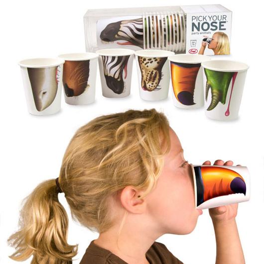 Набор стаканчиков Pick Your Nose, дизайн: Fred