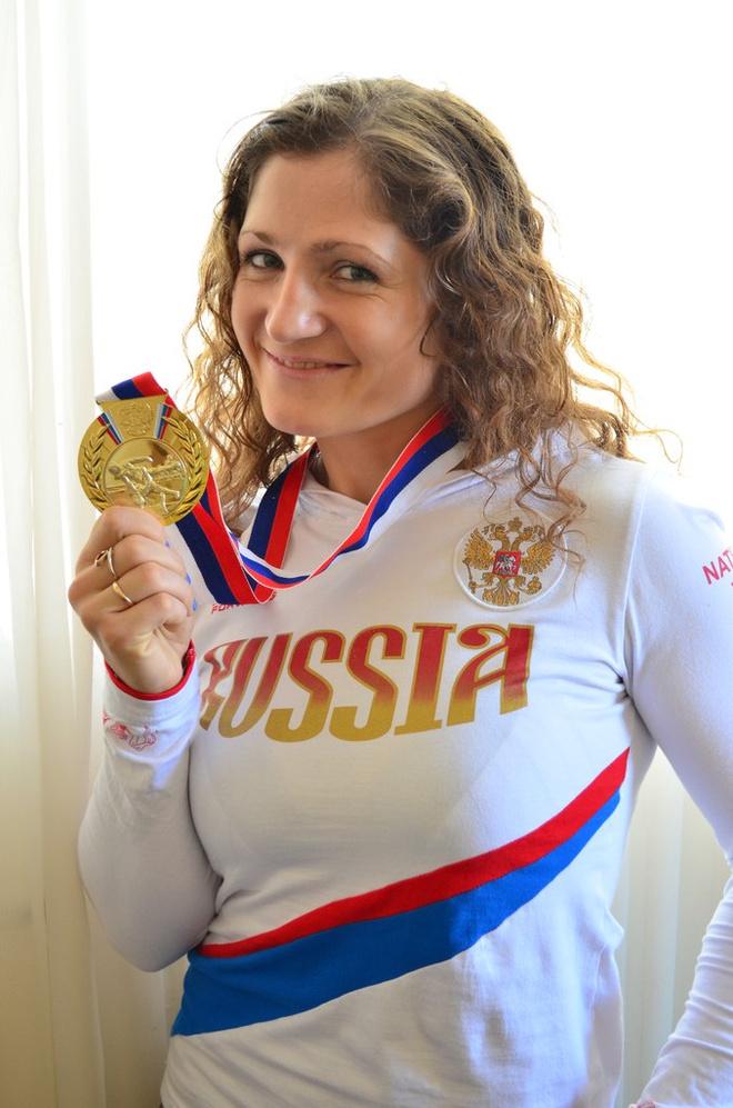 Ольга Сафронова - десятикратная чемпионка мира по рукопашному бою