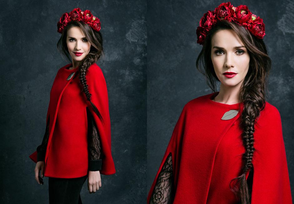 Наталья Орейро выпустила линию одежду, посвященную России