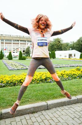 Наталья Водянова в Москве
