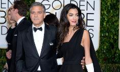 Джордж и Амаль Клуни: семейный выход за наградой