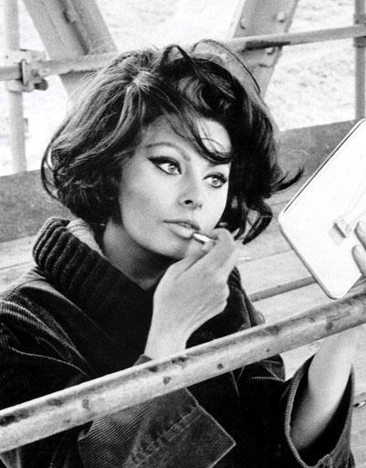 Софи Лорен (Sophia Loren) - одна из самых красивых женщин современности