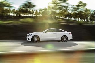 Стильный и спортивный: новый Е-класс купе