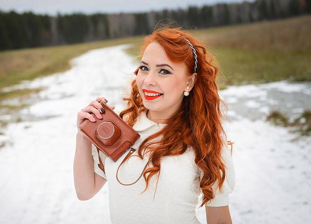 "Мария Хитрик для конкурса ""Королева осени"", фото"