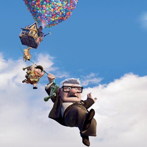 Постер к мультфильму «Вверх»