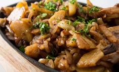 Рецепты жареных грибов с картошкой