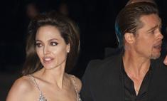 Анджелина Джоли и Брэд Питт встретили Рождество в Африке