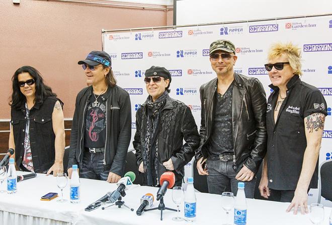 Scorpions в Перми