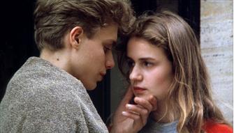 """Кадр из фильма """"За наших любимых"""" (À NOS AMOURS, Морис Пиала 1983)"""