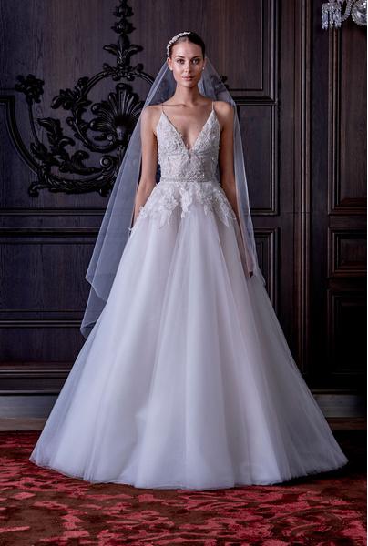 50 самых красивых платьев со Свадебной Недели Моды в Нью-Йорке | галерея [1] фото [29]