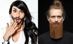 Наш ответ Кончите Вурст: борода из шпона