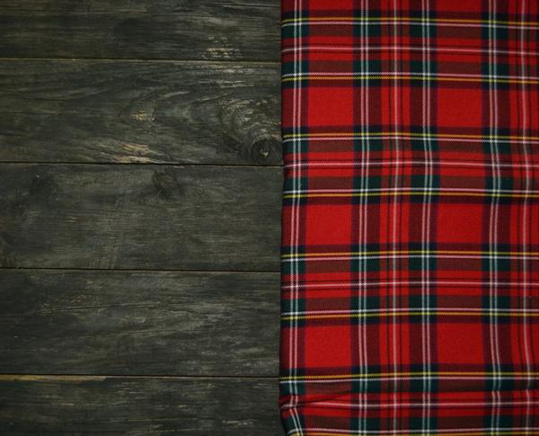 Одежда клетка-шотландка