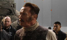 Шварценеггеру разбили нос на съемках «Вия-2»