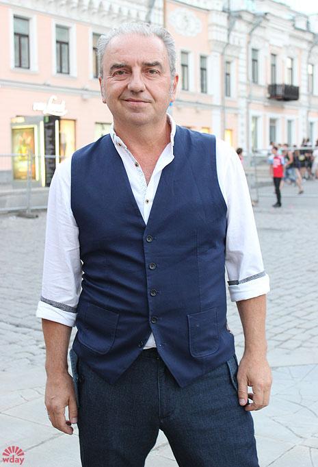 Владимир Шахрин перед концертом на Дне города в родном Екатеринбурге, фото