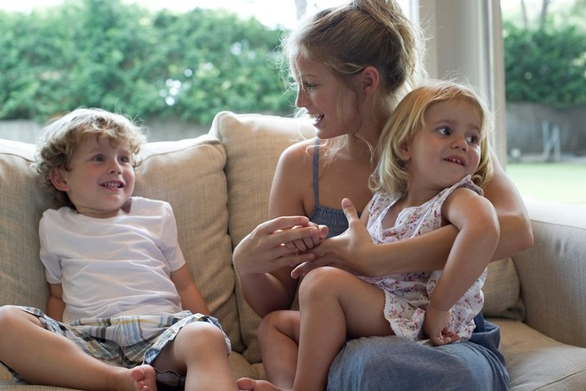 разговор мамы и детей