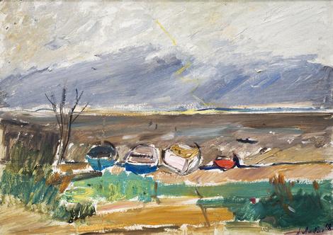 Открывается выставка этюдов художника Александра Лабаса | галерея [1] фото [3]