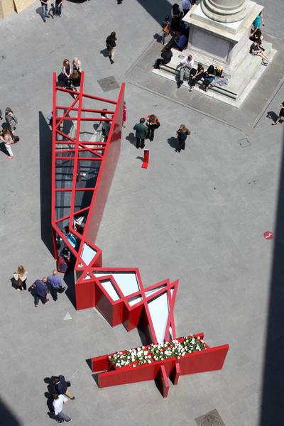 Арт-инсталляция Salvatore Ferragamo появилась в центре Флоренции