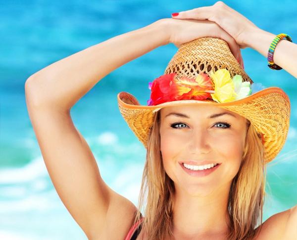 Украшения женской шляпки