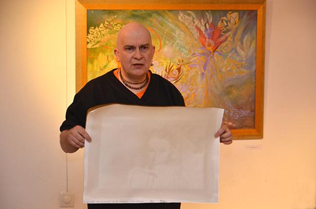 художник Максим Железняков