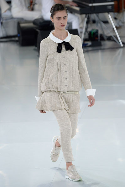 Показ Chanel Couture весна-2014