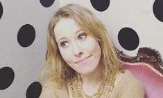 Ксения Собчак устроила скандал в самолете