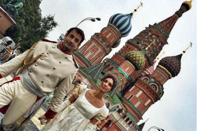 Зара и Дмитрий Певцов фото