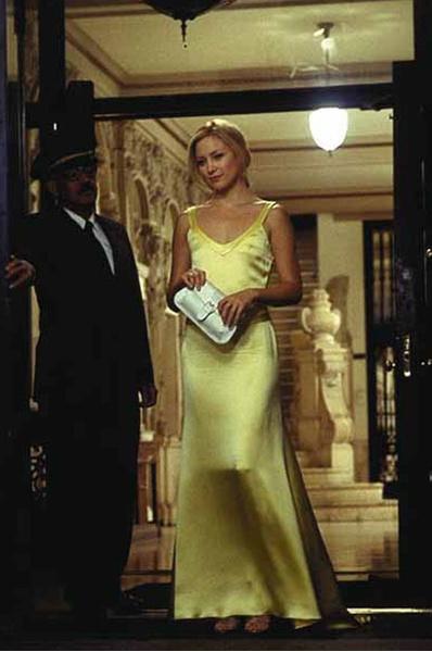 Кейт Хадсон желтое платье