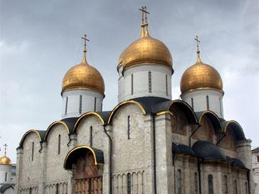 Успенском соборе Кремля