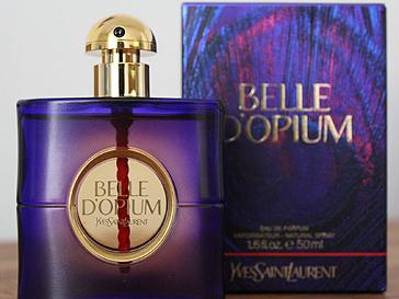 Реклама духов Belle d'Opium от Yves Saint Laurent