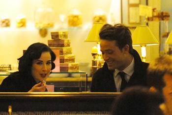 Романтический ужин Диты и Луи